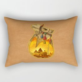 Guardians of the Pyramids Rectangular Pillow
