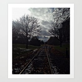 Old Railroad Art Print