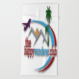 The Happy Wanderer Club Beach Towel