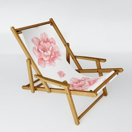 Beautiful Flower Art 21 Sling Chair