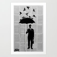 just a perfect day Art Print