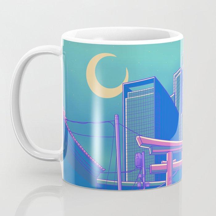 Neon Moon Coffee Mug