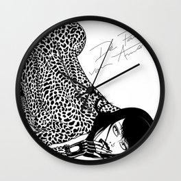 Wild Panter Tee Wall Clock