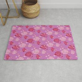 Roses pattern 3c Rug