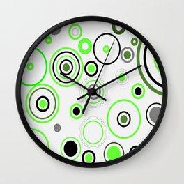 Green&Black combination Wall Clock