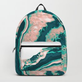Melon Agate - Summer Vibes Gem #2 #gem #decor #art #society6 Backpack
