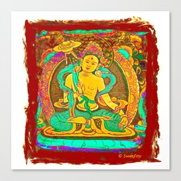 Thanka (2) Canvas Print