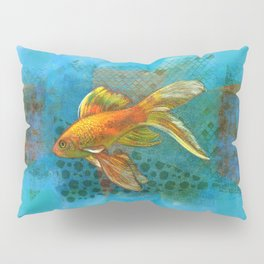 Golden Fish  Pillow Sham