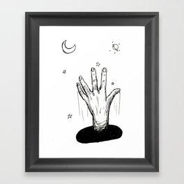 Reach For the Heavens Framed Art Print