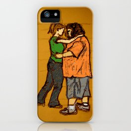come back with me iPhone Case