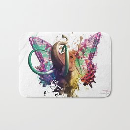 Elephant Need to Fly Bath Mat