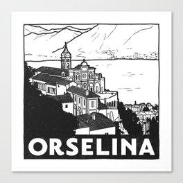 Orselina, Lago Maggiore, Italy Canvas Print