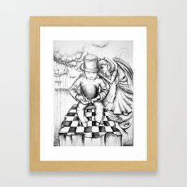 You've Got the Whole World in Your Hands Framed Art Print