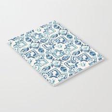 tile pattern IV - Azulejos, Portuguese tiles Notebook