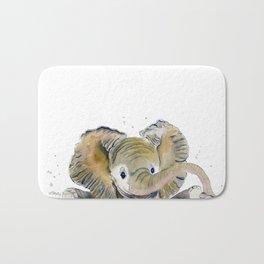 Hello,Anybody At Home? - Baby Elephant Bath Mat