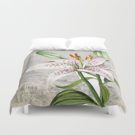 Macro Flower #3 Duvet Cover