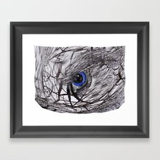Eye on the Ball Framed Art Print