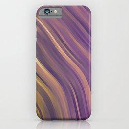stripes wave pattern 1 lsp iPhone Case