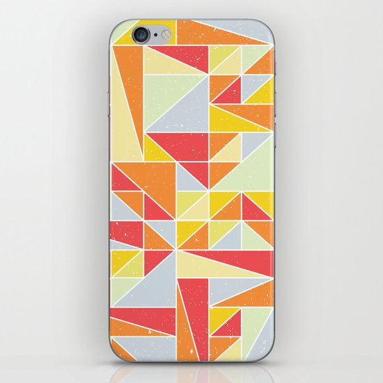 Shapes 008 iPhone & iPod Skin
