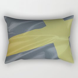 Silk Flag of Saint David Rectangular Pillow