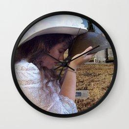 Gilded Memorial Wall Clock