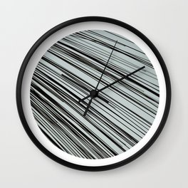 Blurred Vision Wall Clock