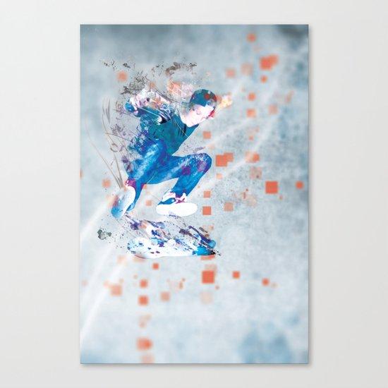 Ride North Canvas Print