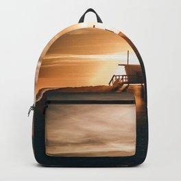 Golden Pier (Color) Backpack