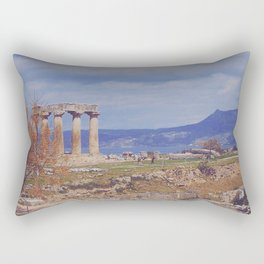 Ancient Corinth Rectangular Pillow