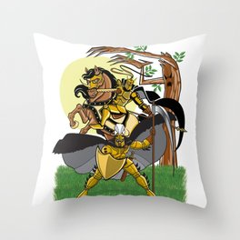 Golden Knights Throw Pillow