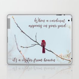 Visitor from Heaven Laptop & iPad Skin