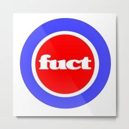 Fuct Logo Metal Print