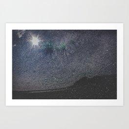 Alaska, Exposed: Beach as Sky Art Print