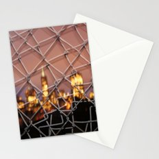 the city lines Stationery Cards