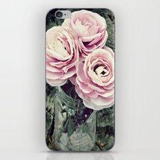 Pretty Ranunculus iPhone & iPod Skin