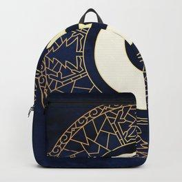 MANDALA MOON AND STARS Backpack