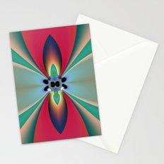 Funky Flower Stationery Cards