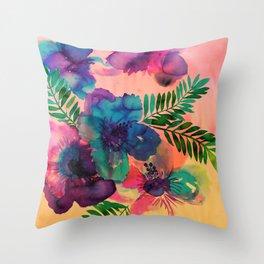 Skye Floral Throw Pillow