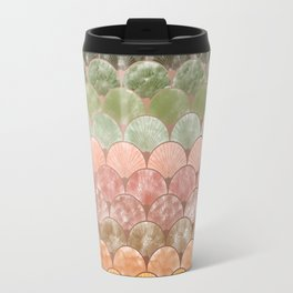 Watercolor art decó pattern Travel Mug