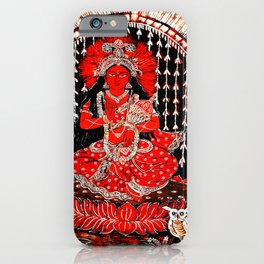 Hindu Lakshmi 1 iPhone Case