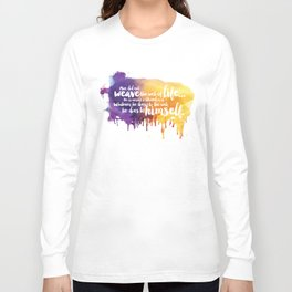 Father, You Are The Skydancer Long Sleeve T-shirt