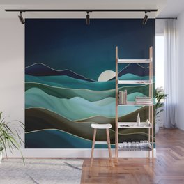 Moonlit Vista Wall Mural
