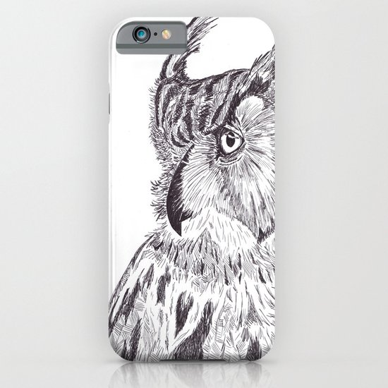 Horned Owl iPhone & iPod Case