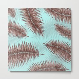 Palm Fronds 1 Metal Print