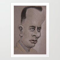 forrest Art Prints featuring Forrest by chadizms