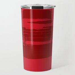CHEVY PICKUP IN MONOCHROMATIC RED Travel Mug