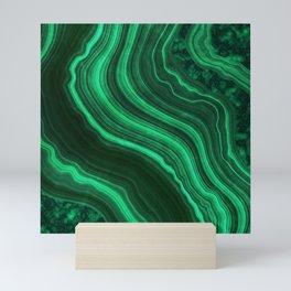 Malachite Texture 08 Mini Art Print