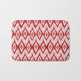 Bohemian Christmas - Ruby Bath Mat