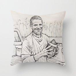Brett Favre Throw Pillow