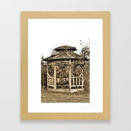 Gazebo Framed Art Print